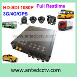 H. 264 4G 3G GPSのHigh Definition 4 Channel Car Mobile DVR