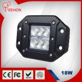 18W luz impermeable del trabajo del CREE LED