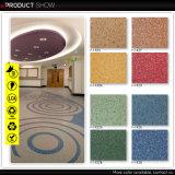 Trafic élevé Utilisation Feuille de revêtement de sol en vinyle PVC-de-chaussée (F-2087)
