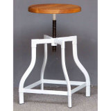 Restaurante industrial moderno Dining Turner Wooden Common Bar Stools