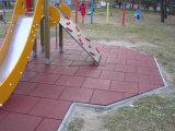 De openlucht RubberTegel van de Tegel van de Tegel Kleurrijke Rubber Vierkante Rubber
