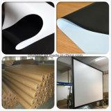 PVC 백색 영사막 직물 또는 후사 투영 스크린 백색 필름