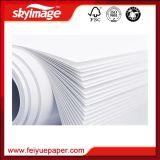 50GSM Anticurl sublimação de tinta de secagem rápida papel de transferência