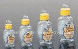 500 g de miel de plástico PET Botella con tapa de válvula de silicona (PPC-PHB-01)