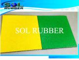 Яркий цветной игровая площадка резиновые плитки пола безопасности