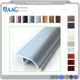La famosa marca / Perfil de aluminio Perfil de pared de aluminio con aleación de aluminio y aluminio para Ventana y puerta y pared de cortina
