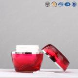 choc cosmétique acrylique en plastique de qualité de 30g 50g