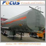 De tri Aanhangwagen van de Vrachtwagen van de Opslag van de Tanker van de Stookolie van de Vrachtwagen van Assen 50kl Zware