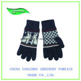 Перчатки Knit выдвиженческого нового типа способа теплые