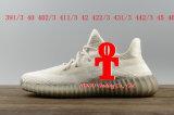 La spinta 350V2 di Addas Yeezy delle scarpe da tennis delle calzature reale amplifica il formato rosso nero 36-46 dei pattini correnti di memoria