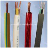 Cabo de fio elétrico do PVC, fio de construção para a luz