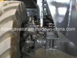 Землечерпалки колеса Китая малые с Grasper для древесины/сахарныйа тростник/сторновки нагрузки