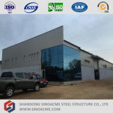Sinoacmeは研修会が付いている金属フレームのオフィスビルを組立て式に作った