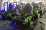 Hidráulico eléctrico / simulador de cine en 5D Motion Ride Teatro de la película con efectos