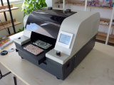 Machine d'impression en plastique de couverture, imprimante en plastique bon marché de carte