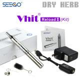 Ricarica portatile del vaporizzatore della penna di Seego Vape del vaporizzatore penna del vaporizzatore dell'erba dei 2 kit