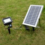 Éclairage extérieur LED 5W 54 Capteur de mouvement IRP Solaire des projecteurs