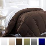 Comforter poco costoso bianco di riempimento del poliestere di Polyeter