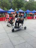 Fácil llevar la motocicleta del sillón de ruedas, mini vespa elegante de la desventaja