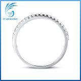 Anello cubico di modo dell'argento di Zirconia di stile elegante per le donne