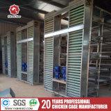 Bonne Épaisseur de la couche d'oeufs cages en batterie A3L90 pour l'Afrique ferme