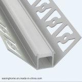 고품질 알루미늄 표면 LED 알루미늄 단면도