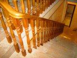 Stairway da madeira contínua do Teak do carvalho do estilo chinês