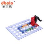 Design inteligente adolescente crianças coloridos de plástico de bricolage Building Block electrónica