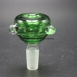14m m Downstem 18m m de cristal y tazón de fuente de cristal para el tubo de agua de cristal