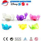 Furchtsame Hauptfinger-Marionetten-Plastikspielzeug für Kind-Förderung
