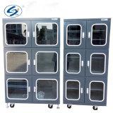 ステンレス鋼の病院の薬剤のためのガラスドアの表示耐湿性のキャビネット