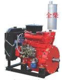 SAE refrigerado por agua4 Volante motor de la bomba de incendios de tipo QC380 Q (DI)