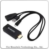 F3 Miradisplay Dongle Wireless HD 1080P de 2,4 Ghz Chorme emitidos para Android Ios