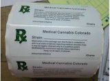 La prescripción médica de etiquetas de Rx