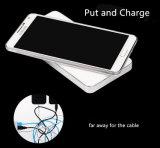 Chargeur sans fil de vente de côté chaud de pouvoir pour l'iPhone Samsung