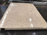 Pedra grande de quartzo da laje do tamanho do material de construção de China para o assoalho