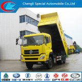 최상 12의 바퀴 디젤 엔진 유형 Dongfeng 팁 주는 사람 트럭