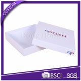 Rectángulo de tarjeta de papel rígido impreso aduana de la invitación del diseño simple