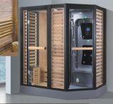 Sauna combiné par vapeur de rectangle avec la douche (AT-D8875)