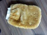 Перчатка мытья шерстей, перчатки овчины, синтетическая перчатка запитка автомобиля Lambskin
