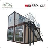 bloco liso pré-fabricado de vida do luxo moderno de 20FT que dobra a casa expansível do recipiente