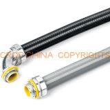 Metálica de acero flexible apretado líquido del conducto de la manguera de llenado con cable