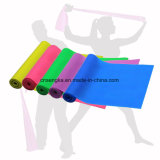 Venda de la resistencia del látex de la yoga del estiramiento del ejercicio de la aptitud de la gimnasia de la venta al por mayor los 2.5m