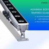 18W 24W 36W 프로젝트를 위한 옥외 빛 IP65 정면 점화 RGB LED 벽 세탁기