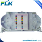 FTTH grossista a bandeja de cabos de fibra óptica para plano de encerramento
