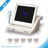 Máquina portátil de Hifu dos tiros da boa qualidade 10000 do equipamento do salão de beleza para a pele que aperta o levantamento de face