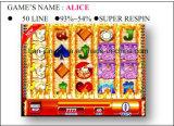 Alice-50 het lijn-super het Gokken Spel Machine&#160 van de Arcade van de Machine van het Spel van het Casino;