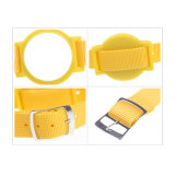 N007 heißes Chipnylon-RFID Wristband des Verkaufs-125kHz RFID Em4100
