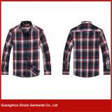 Camisa barata dos homens do algodão da venda por atacado da fábrica de Guangzhou (S75)