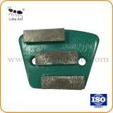 Plaque de métal diamant Lame de broyage de béton de meulage des chaussures pour plaque magnétique